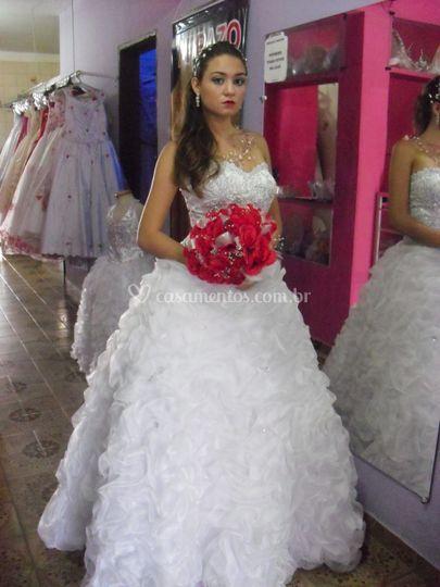Vestido de casamento de Arrazo Noivas e Noivos