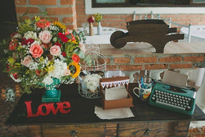 Wedding - Cantinho de recados