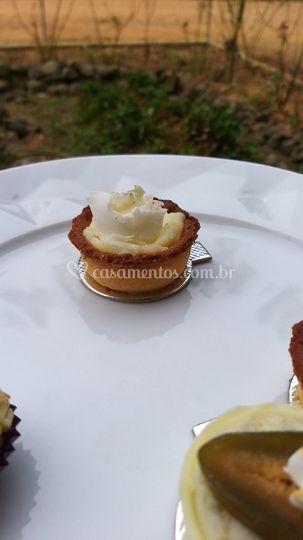 Tartelete de coco fresco