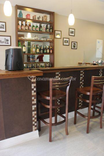 Bar e recepção