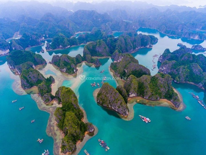 Baía de Ha Long - Vietnã