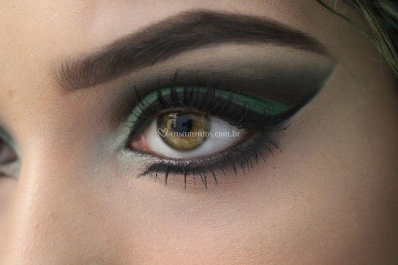 Maquiagem mais artística