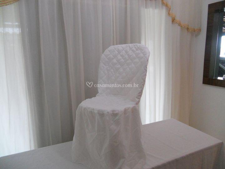 Locação de capas de cadeira