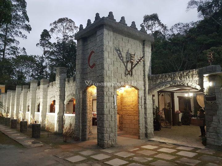 Salão de Festas, externas