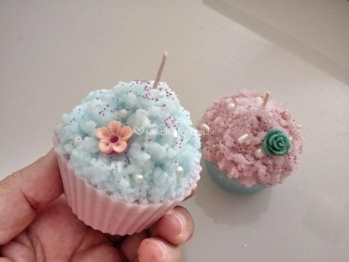 Cupcake em vela
