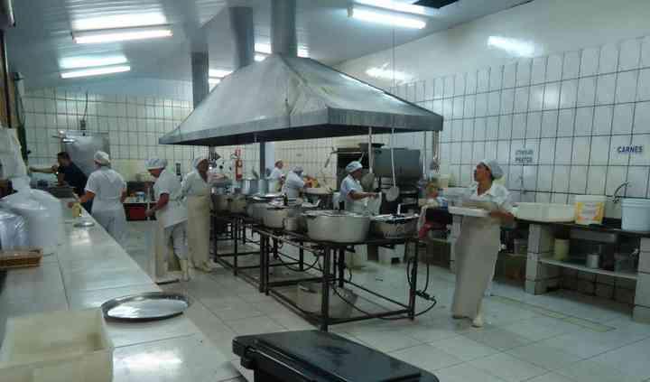 Cozinha industrial completa