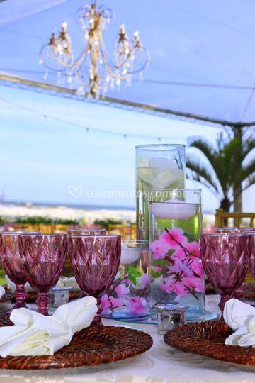 Visão dos copos