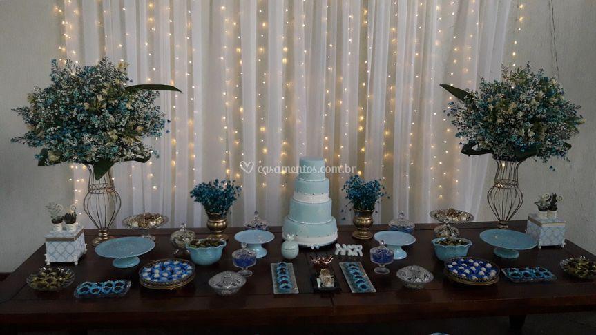 Casamento buffet e decoração