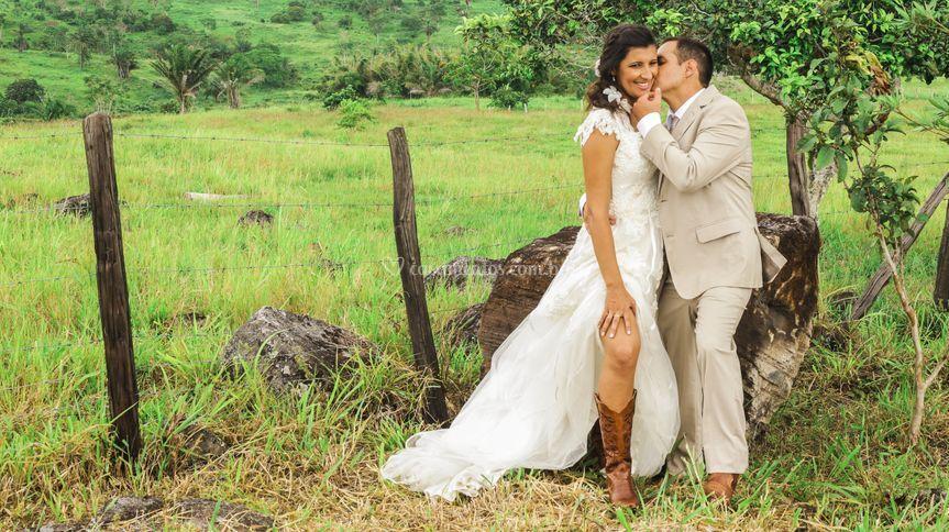Casamento em Fazenda
