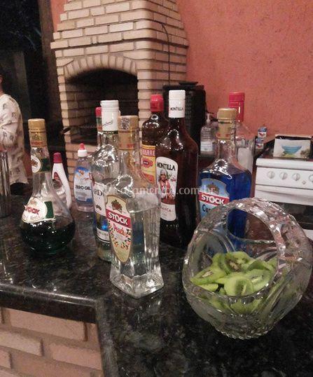 Variedade de licores