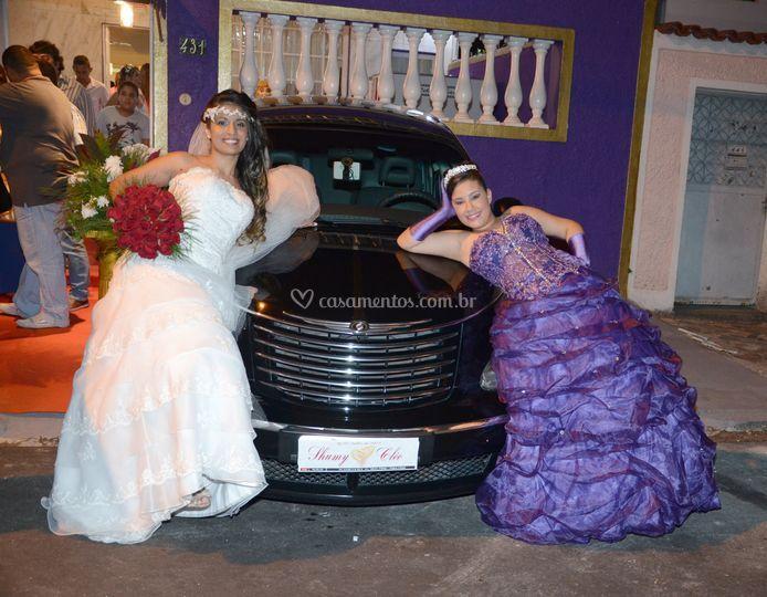 Noiva e debutante