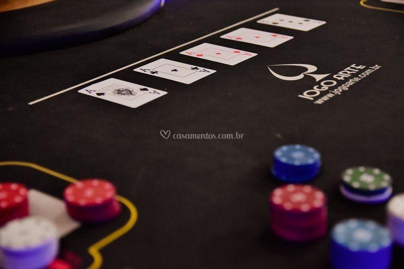 Nossa mesa de poker