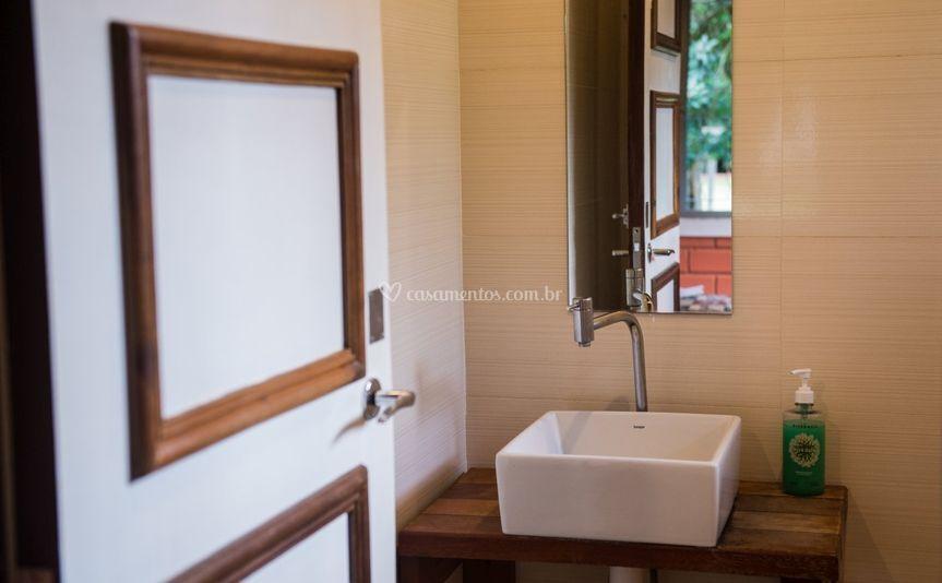 Banheiro quarto suite