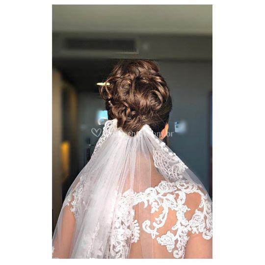 Penteado Noiva Nicole
