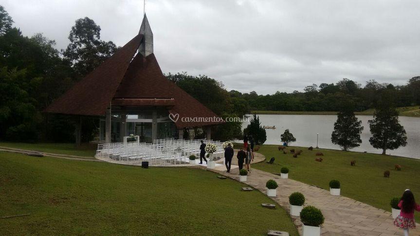 Ctb - cerimônia na capela