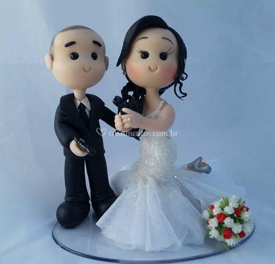 Casal noivinhos policiais civi