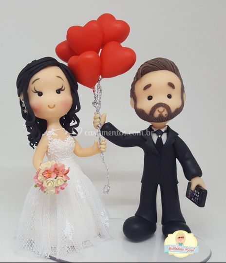 Casal corações