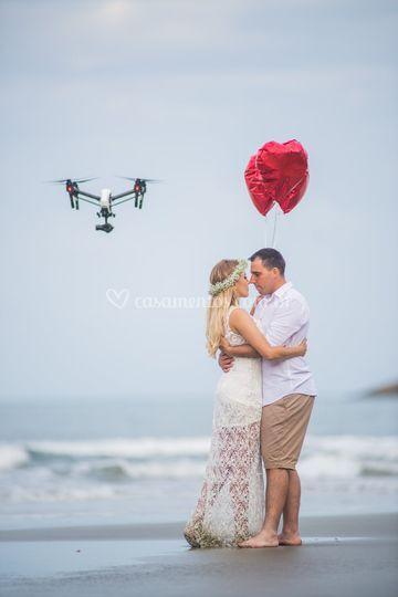 Foto com Drone