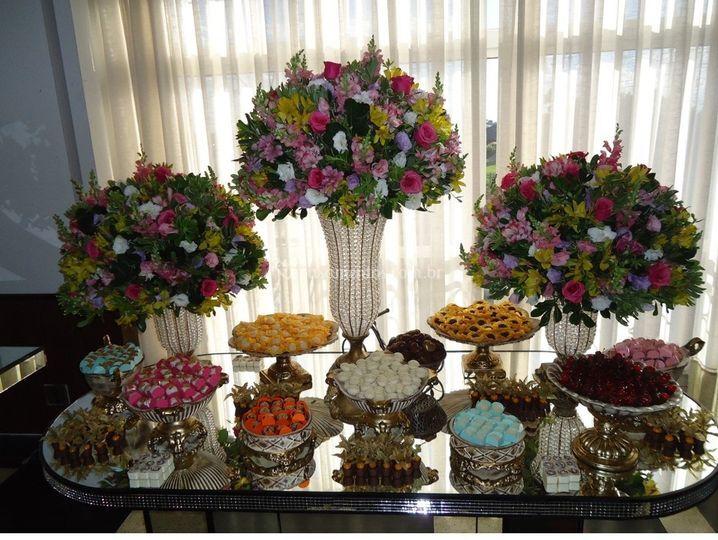 Mesa de Doces de Brown Sugar Chocolates