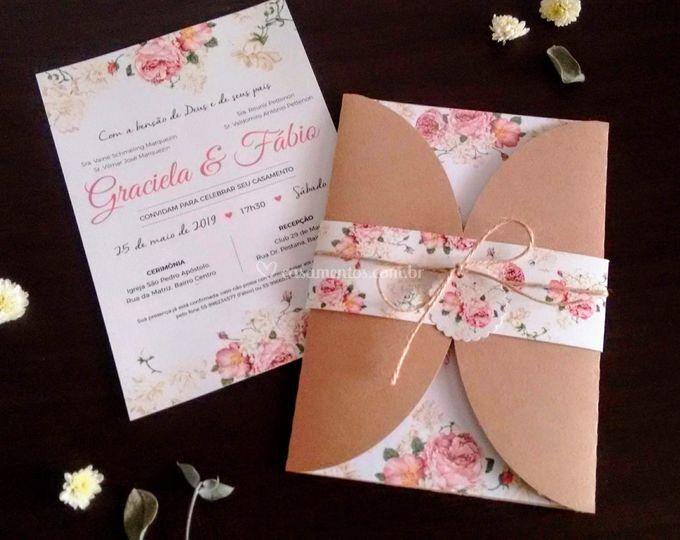 Convite rose
