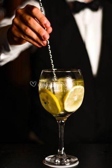 A famosa Gin Tonica