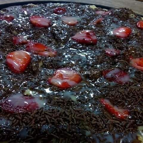 Pizza doce top