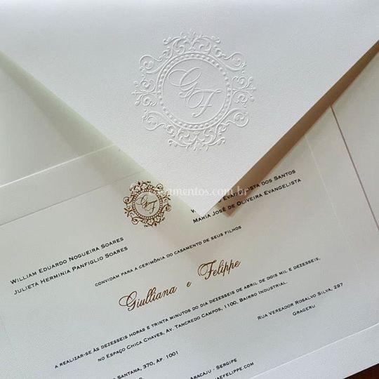 Convite linha tradicional bico