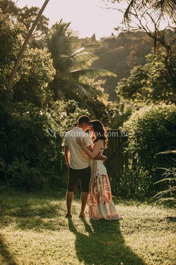 Ensaio no bosque do amor