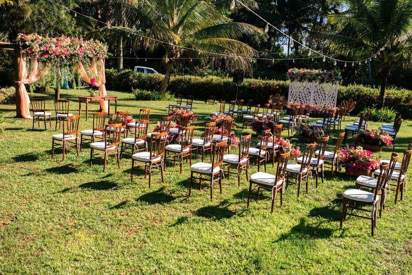 Mini Wedding no verão