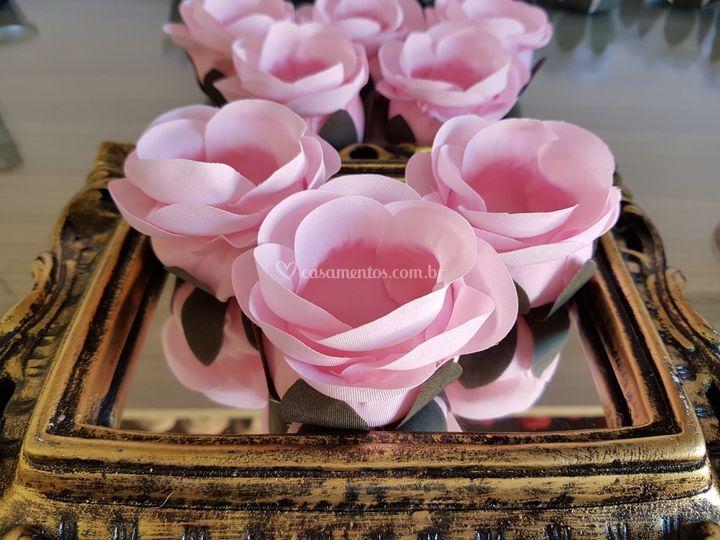 Forminhas de doces Rosa claro rb004
