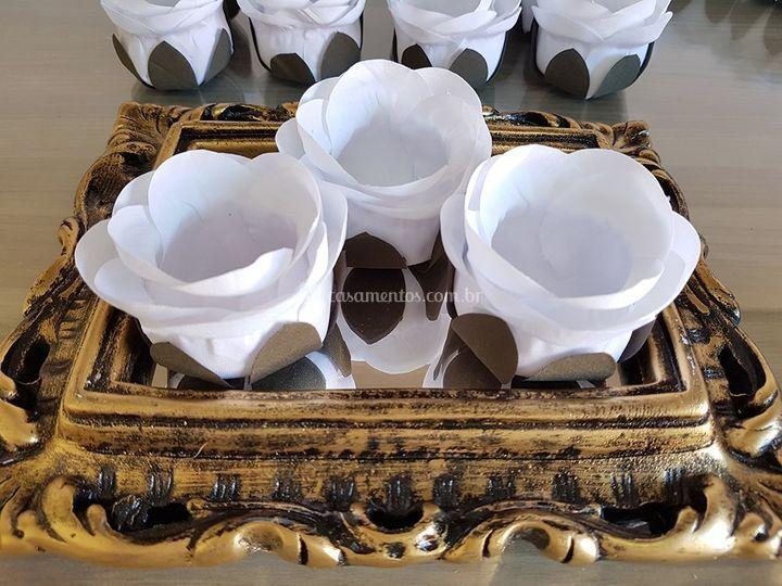 Forminhas de doces Branco rb001