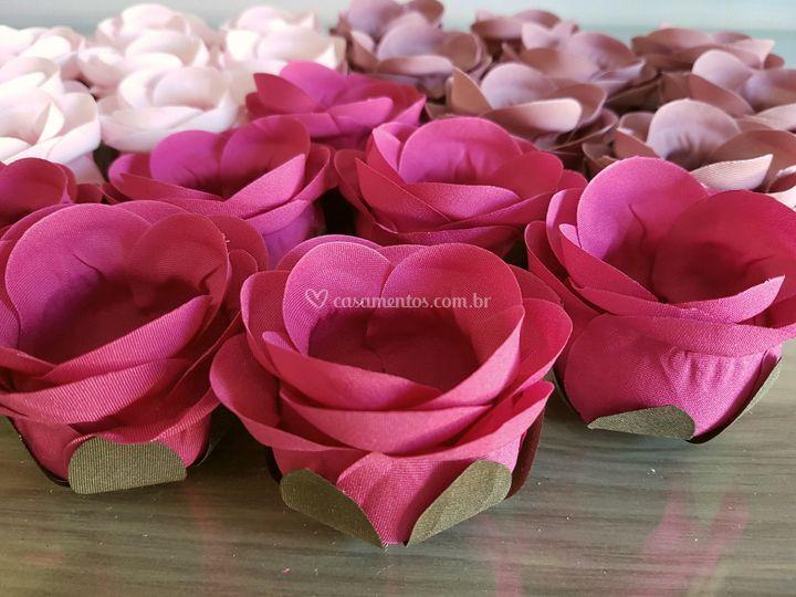Forminhas de doces Rosa pink rb006