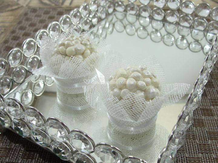 Forminhas de doces Branca cb001-l