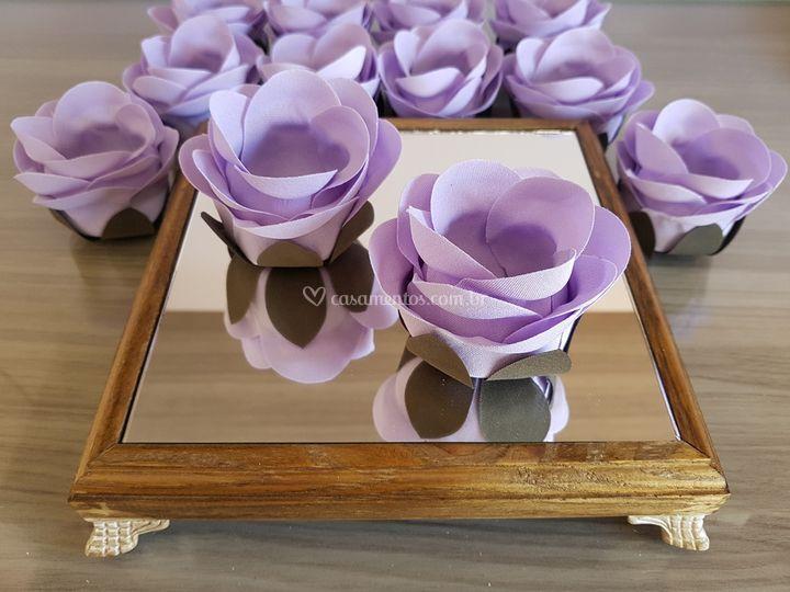 Forminhas de doces Lilás/violeta rb016