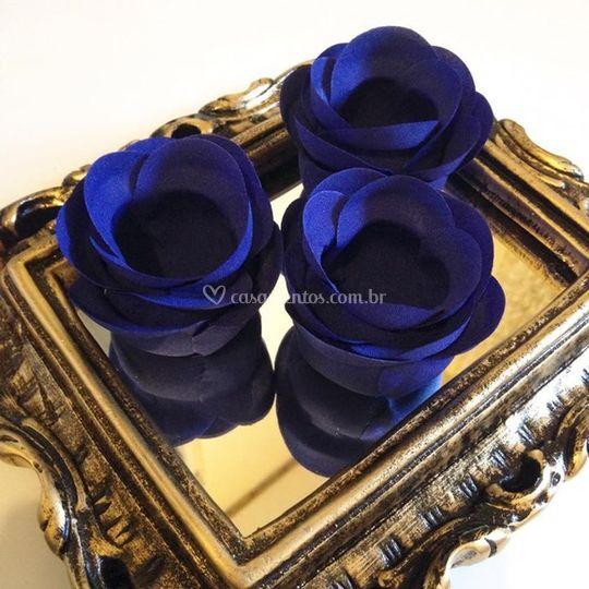 Forminhas de doces Azul royal rb010