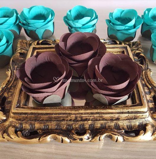 Forminhas de doces Marrom rb012