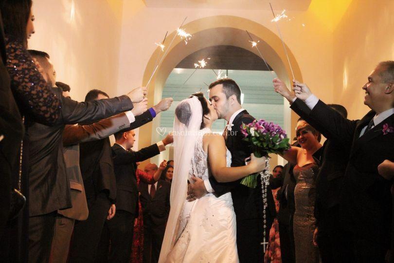 Vestido de Noiva Dália Ateliê
