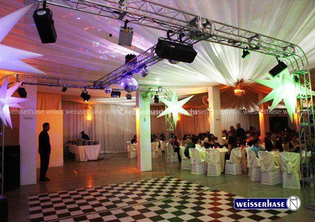 Pista de Dança e piso xadrez