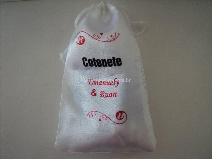 Caixa de lavabo - Cotonete