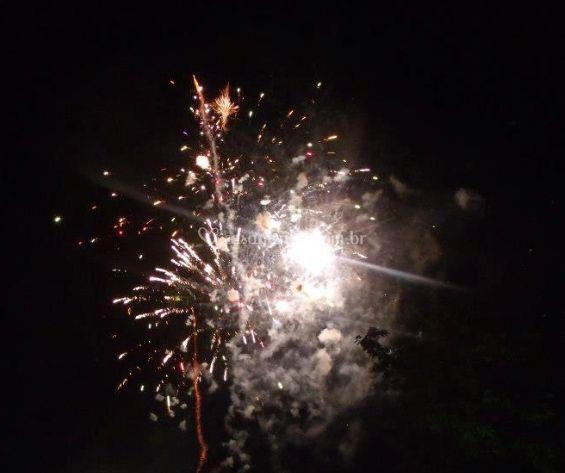 Fogo fogos de artifício