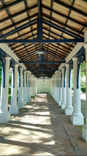 Colunas do Mosteiro Trapista