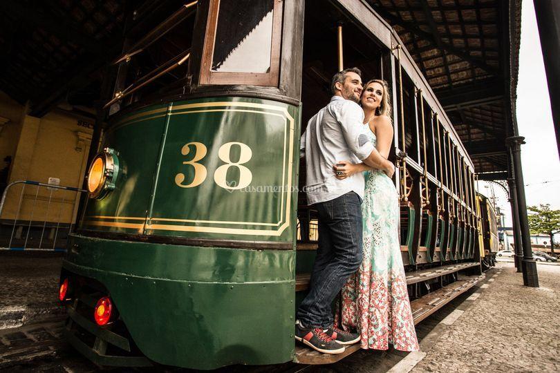 Renata e Raphael - Santos/SP