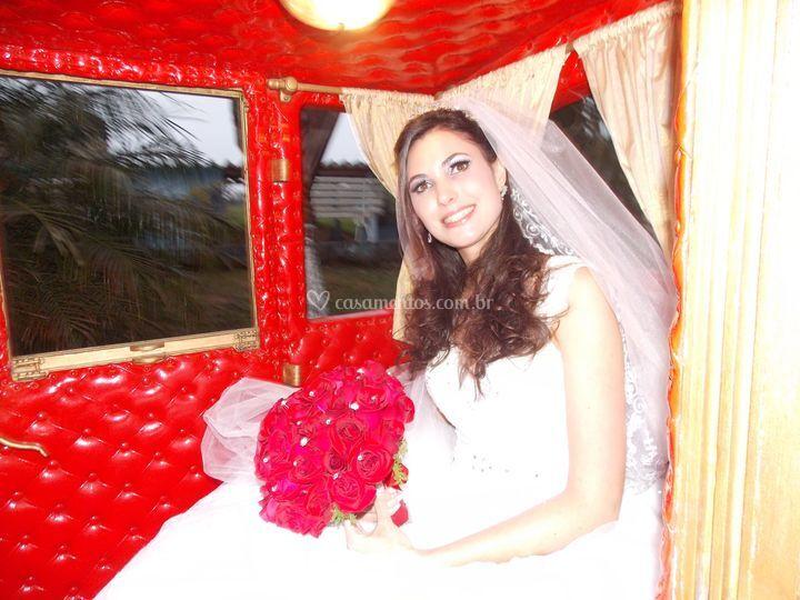 Noiva na carroagem