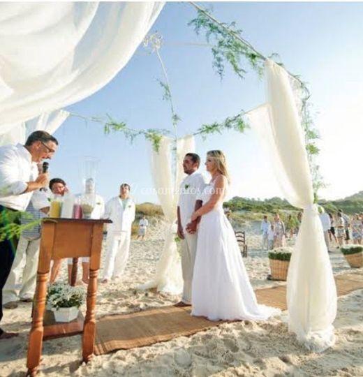 Ceremonia Pé na Areia