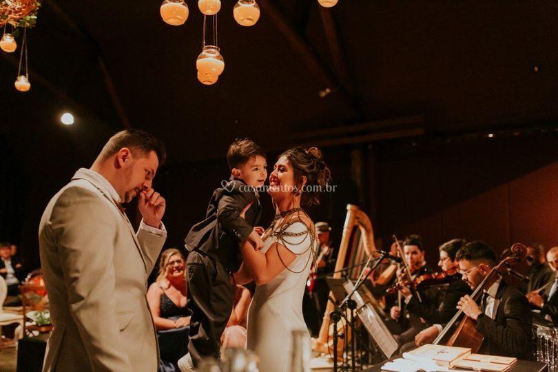 Cerimônia com Orquestra