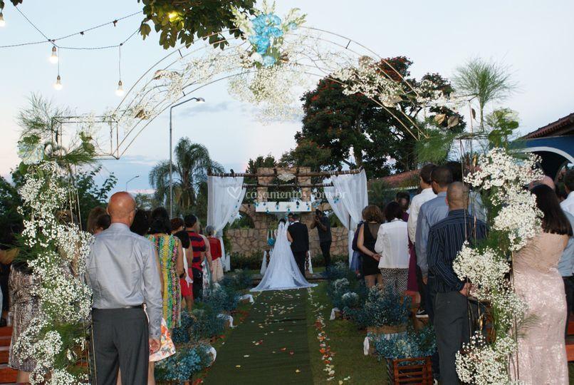 Casamento no pergolado