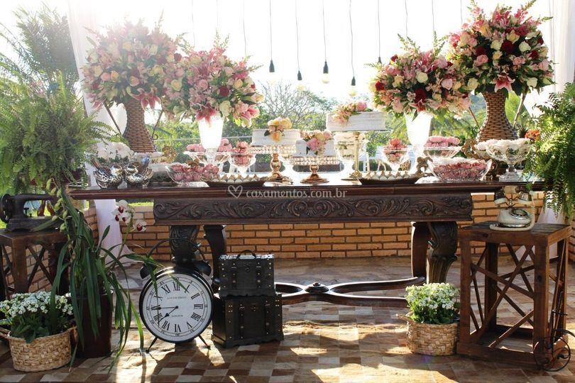 Que mesa linda