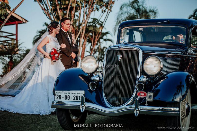 Ford 34 Azul