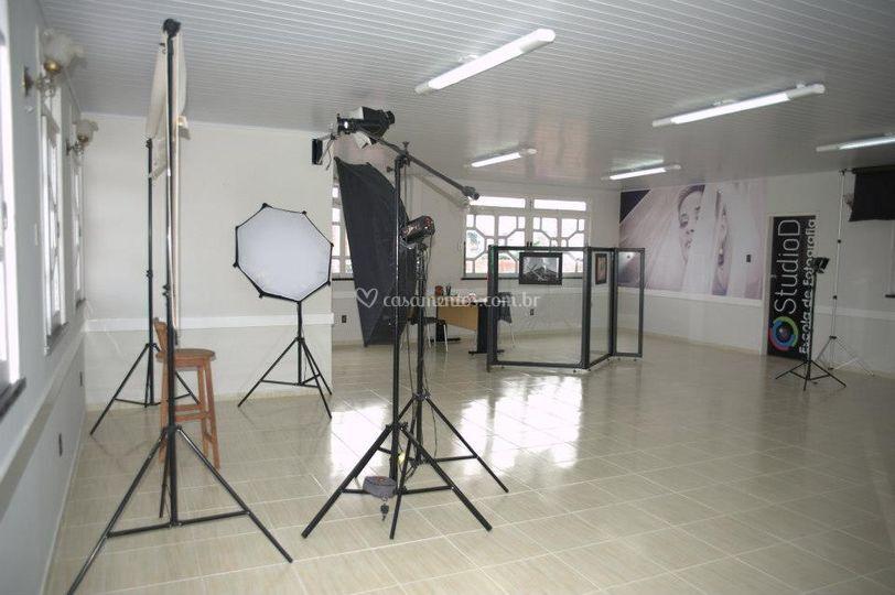 Studio D - Estrutura