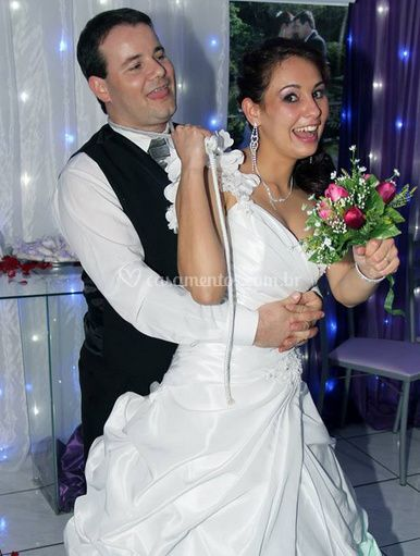Fotografia dos cônjuges